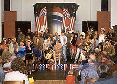 Het eerste grote optreden, april 1997